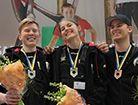 Vinnare av SM för Unga Plåtslagare.